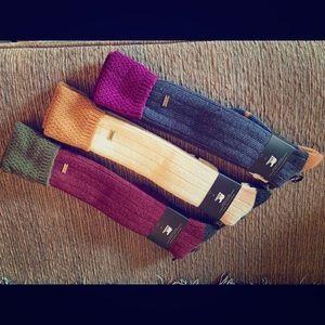 Sorel wool knee high socks - 3 pair